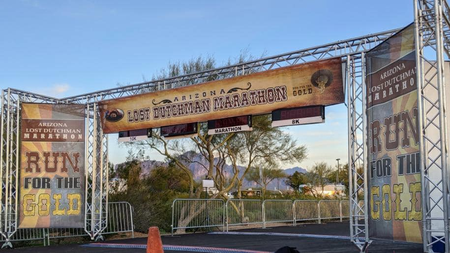Lost Dutchman Finish